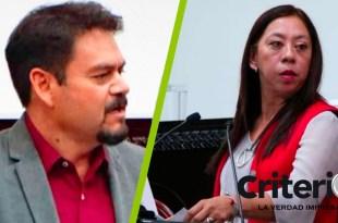 Tras derrota, Rosalba Calva y Armando Quintanar regresan a su curul