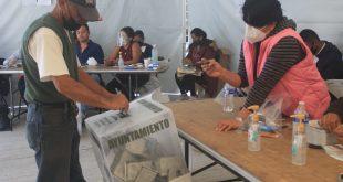 Entregan constancias a 83 alcaldes electos en Hidalgo