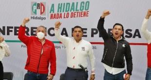 """Pese a victorias, priistas acusan """"fuego amigo"""" en Hidalgo"""