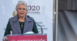 Acusa Olga Sánchez Cordero misoginia dentro de gabinete de AMLO