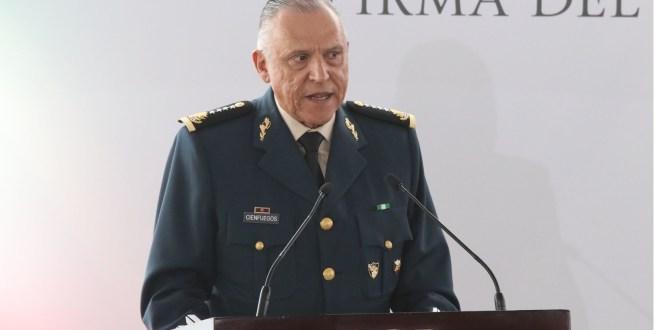 Comparte Salvador Cienfuegos defensa con García Luna y Duarte