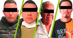 diferentes hechos detienen 4 sujetos armados Hidalgo