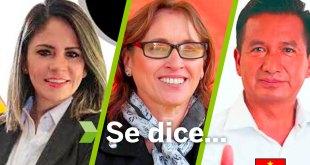 Se dice... que Maribel Solís, Vicente Charrez y Renatta Murán