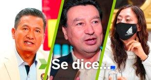 Se dice... que Rosalba Calva, Vicente Charrez y Damián Sosa