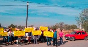 Vecinos Tizayuca realizan bloqueo exigir cancelación gasera