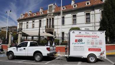 unidad móvil detección covid Pachuca