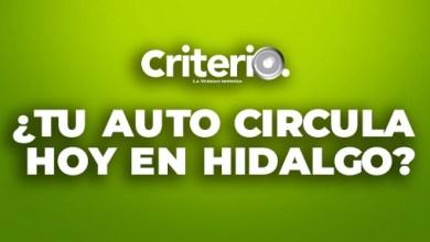 ¿Qué autos no circulan este miércoles 10 de febrero en Hidalgo?