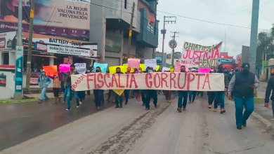 marcha exigen justicia muerte Benita M. M.