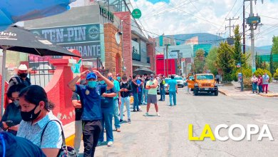 filas comprar boletos Pachuca-Chivas