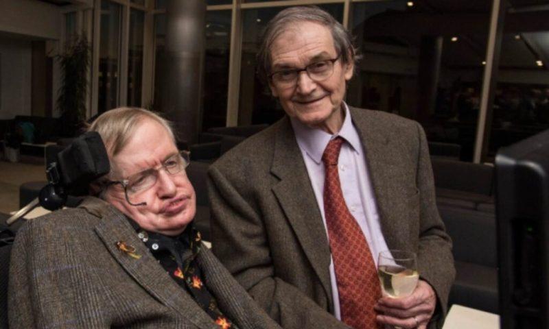 Roger Penrose and Stephen Hawking