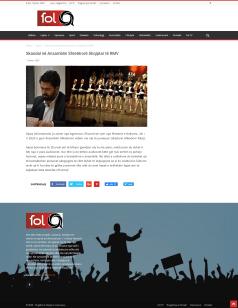 Fol.mk: Skandal në Ansamblin Shtetërorë Shqiptar të RMV