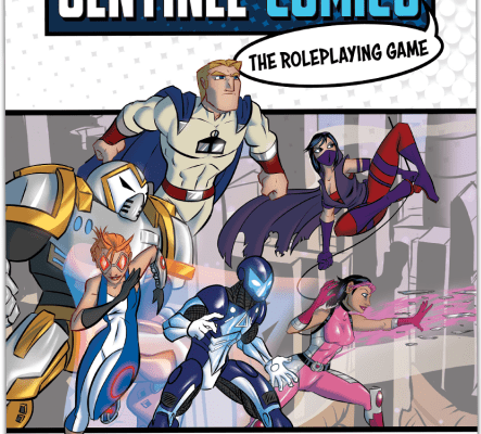 Sentinel Comics Roleplaying Game Starter Kit Released