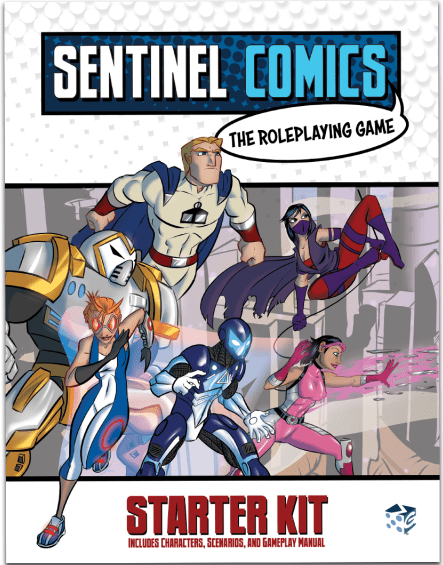 sentinel comics roleplaying game starter kit released critical hits