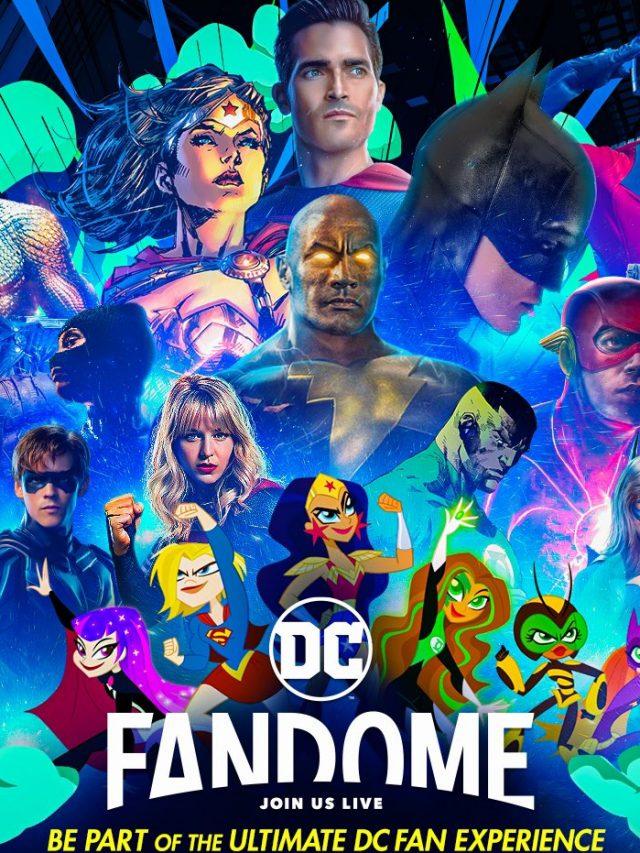 Os anúncios mais aguardados do DC FanDome