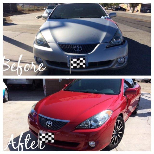 before-after car repair