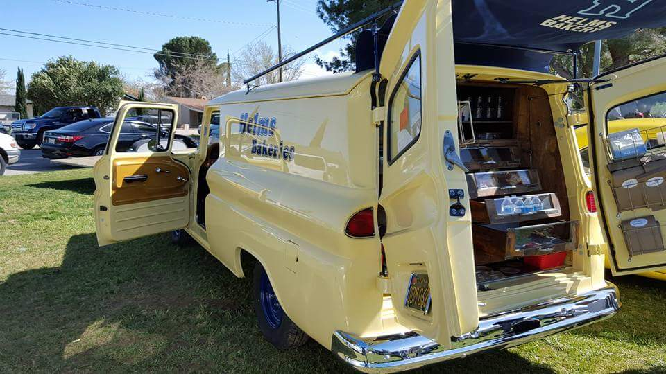 Restoring a 1963 Chevy Panel Truck: The Helms Bakery Coach