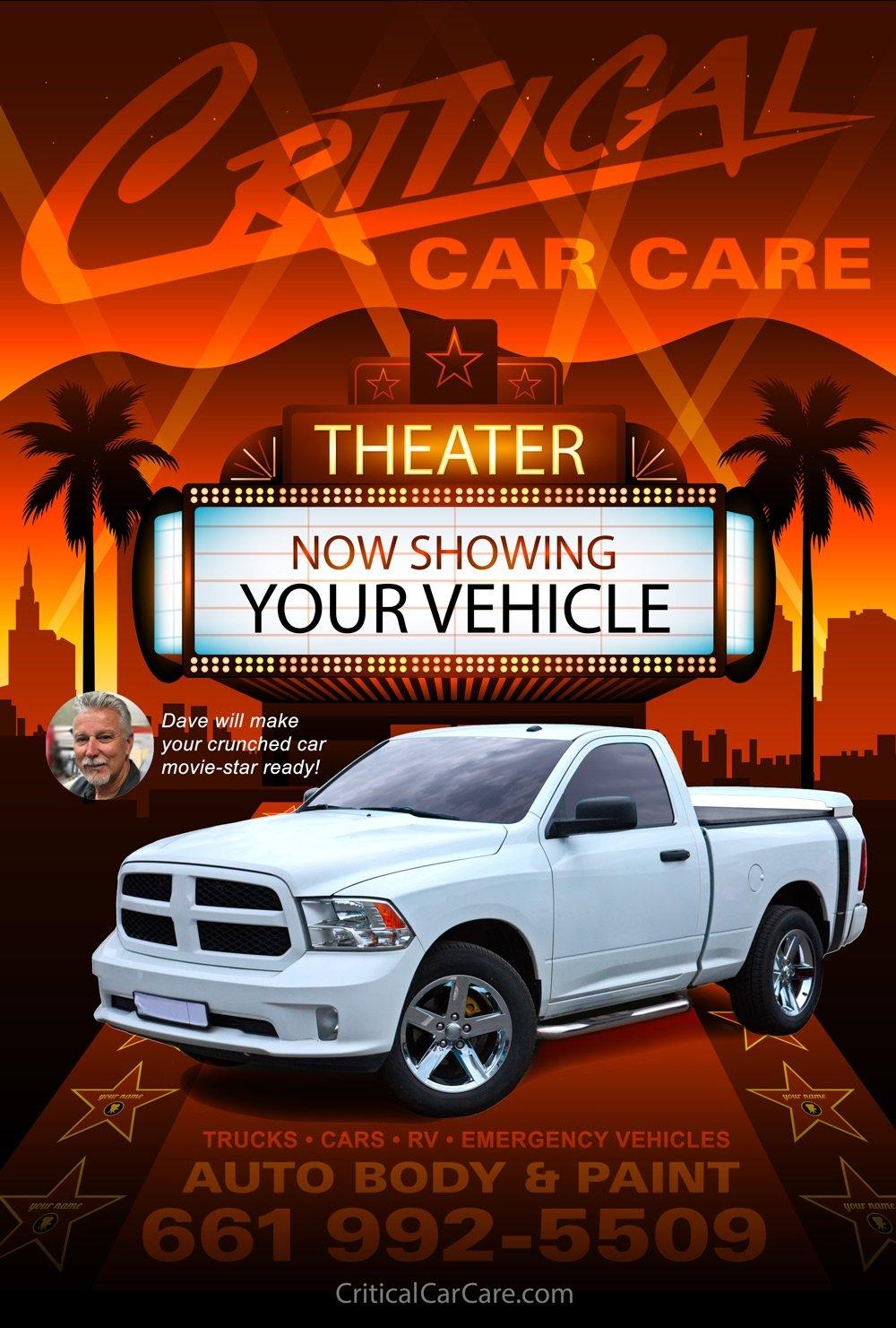 critical car care auto body