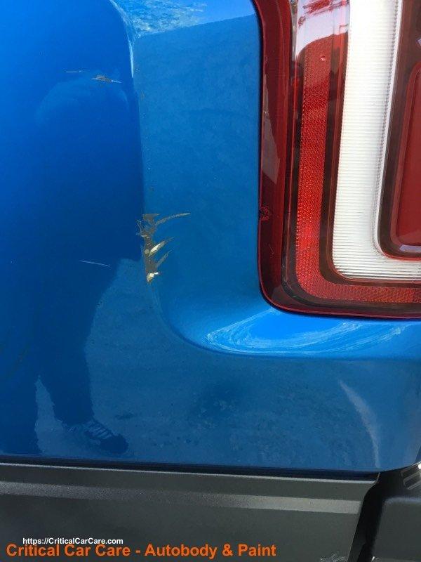 truck body repair raptor
