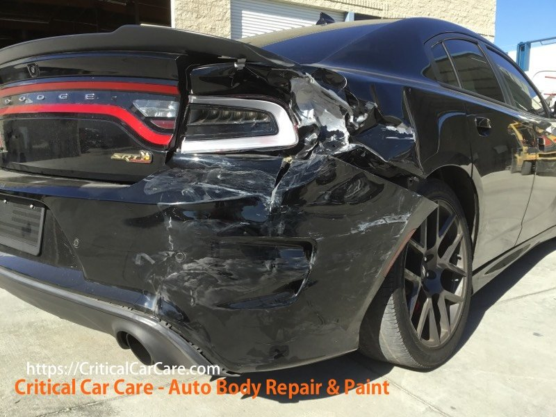 Auto Body Repair 2017 Dodge Charger Before & After