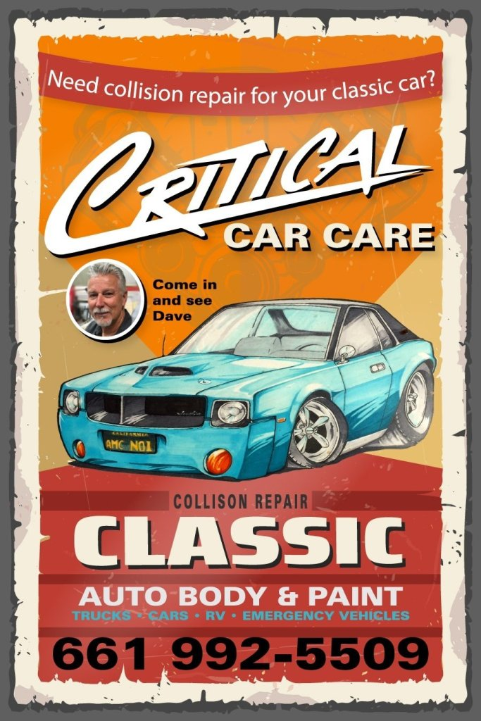 Critical Car Care Classic Repairs