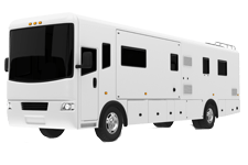RV Motorhome body repair paint