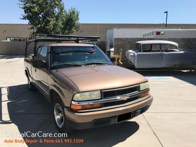 Truck Auto Body Repair Paint