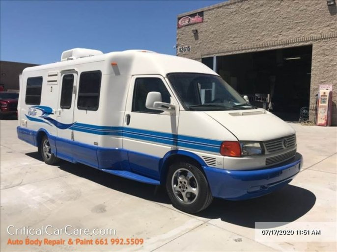 Custom Auto RV paint 2004 VW Van