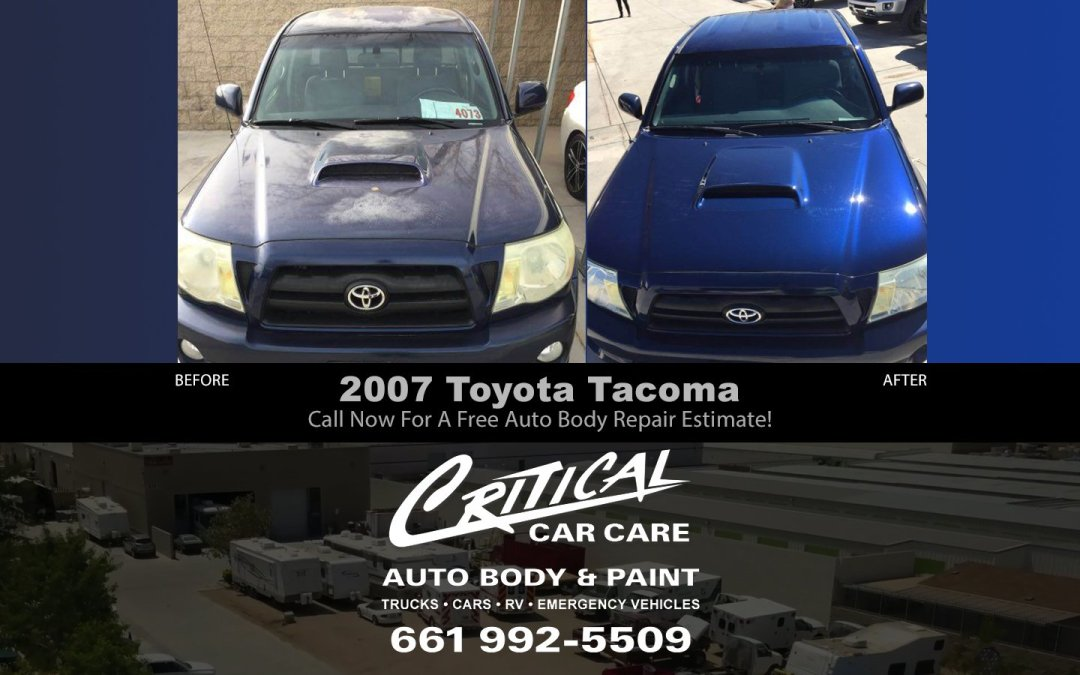 2007 Toyota Tacoma Before / After Truck Body Repair