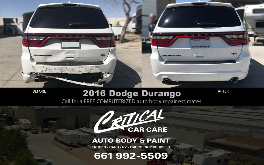 Dodge Durango damaged!