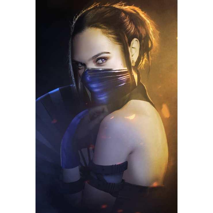 Mortal Kombat   Artista coloca atores de Hollywood no papel de lutadores
