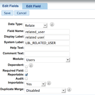 SugarCRM relate field vs 1-2-many relationship
