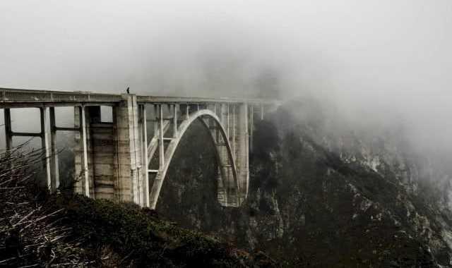A bridge between two clouds