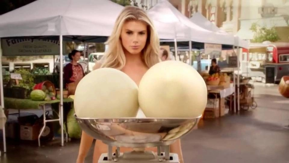 Carls Jr. Super Bowl Ad: Near-Naked Charlotte McKinney
