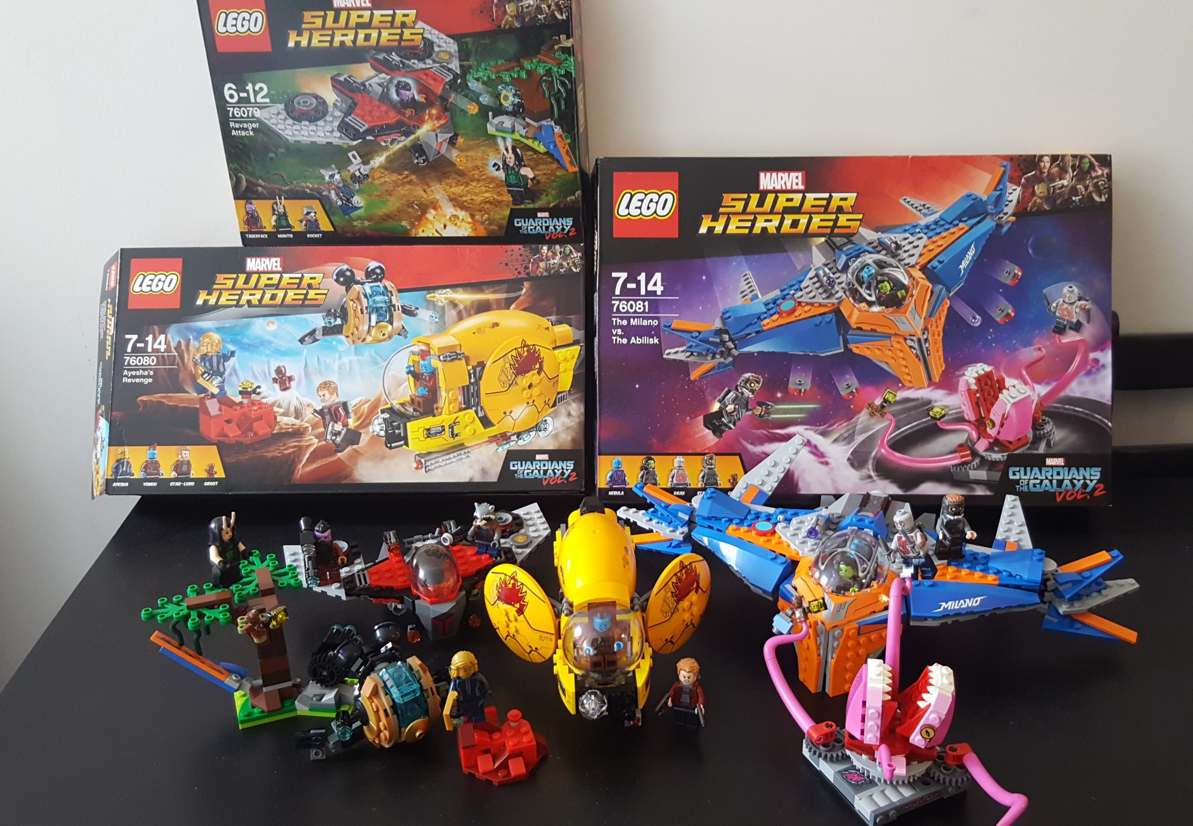 LEGO Review Marvels Guardians of the Galaxy Vol 2 sets