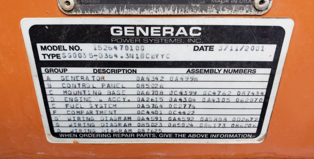 medium resolution of 35 kw generac natural gas generator