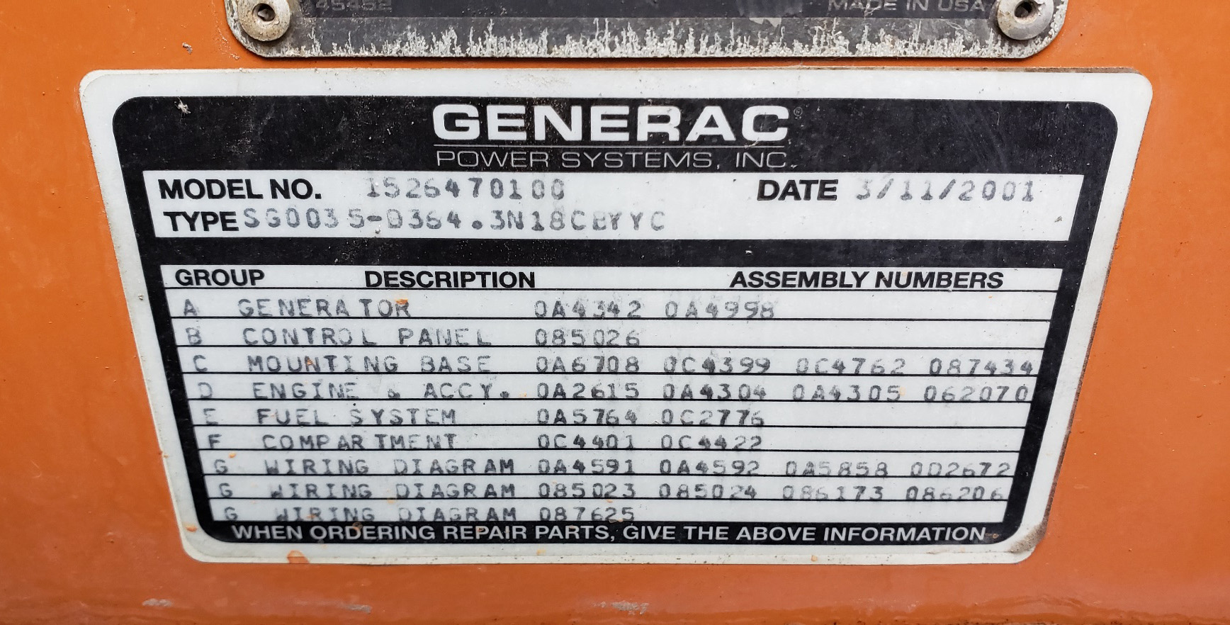 hight resolution of 35 kw generac natural gas generator