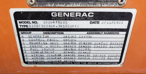small resolution of 35 kw generac natural gas generator