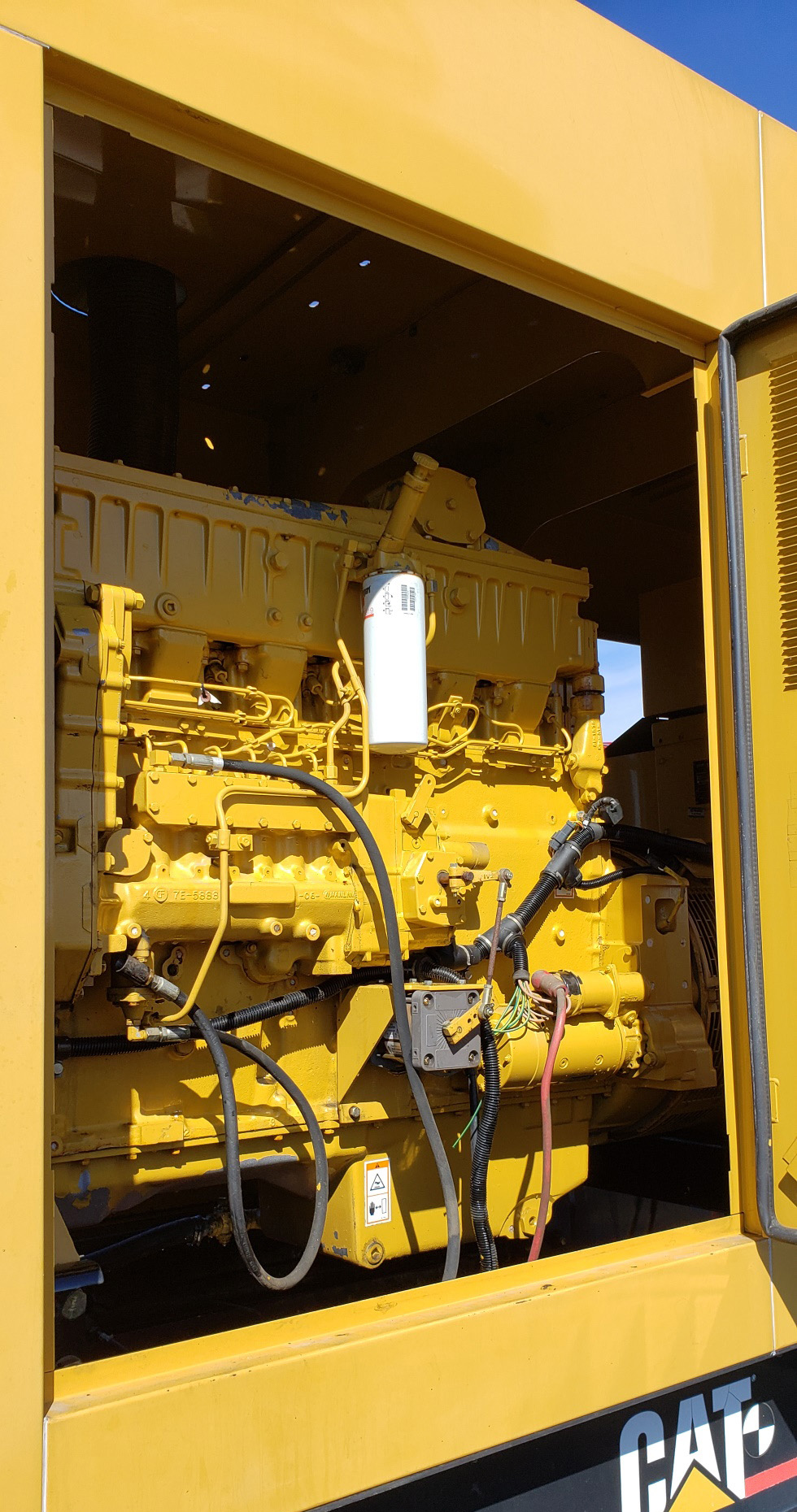 medium resolution of 350 kw caterpillar diesel generator 3406