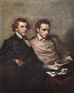 George Huddesford and John Bampfylde, by Sir Joshua Reynolds