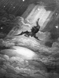 Gustav Dore - Paradise Lost - Satan Falls