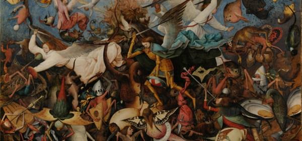 Fall of the Rebel Angels, by Pieter Bruegel the Elder