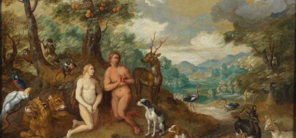 Genesis 2:23, by Jan Brueghel the Younger