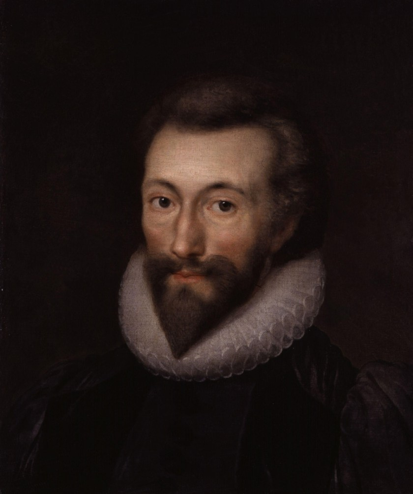 John Donne, by Isaac Oliver