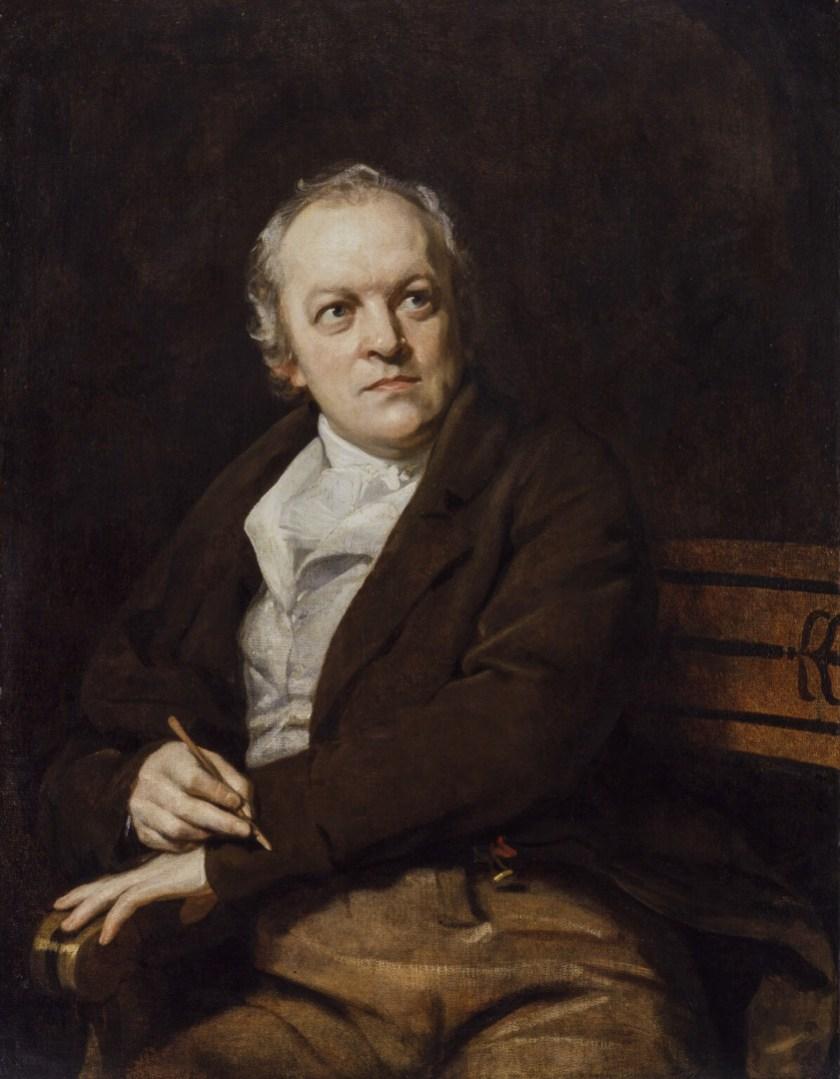 William Blake, by Thomas Phillips
