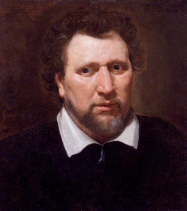 Ben Jonson, by Abraham van Blyenberch