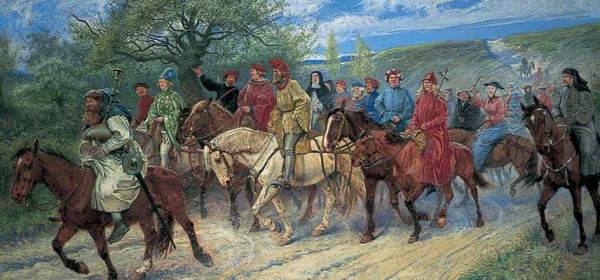 Canterbury Pilgrims, by Paul Hardy