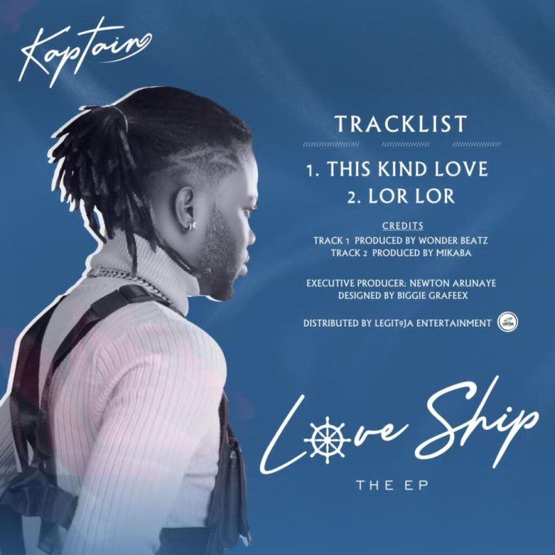 Kaptain Gets In His Feelings With Brand New EP, Love Ship [Listen Here]