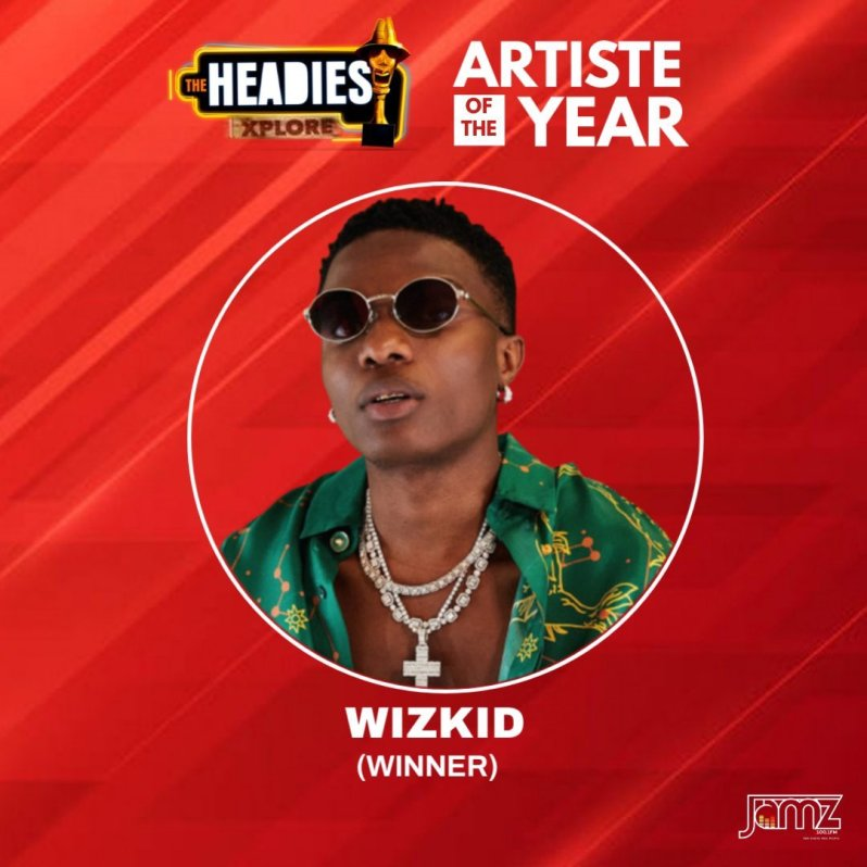 #14thHeadies Award: Wizkid, Fireboy Owned The Night, Alongside Omah Lay, Bad Boy Timz and Others (See List of Winners)