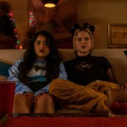 Plan B -- After a regrettable first sexual encounter, a strait-laced high school student and her slacker best friend have 24 hours to hunt down a Plan B pill in America's heartland. Sunny (Kuhoo Verma) and Lupe (Victoria Moroles), shown. (Photo by: Brett Roedel/Hulu)