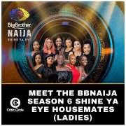 Meet the BBNaija Season 6 Shine Ya Eye Housemates (Ladies) [See Details]